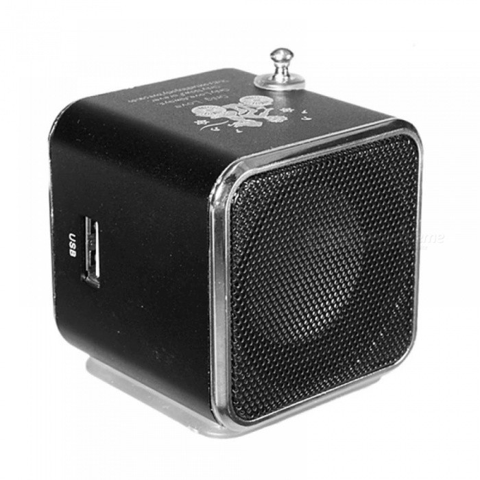 Mini Speaker Portable USB TF Card FM Radio Stereo Speaker Music Player for iPhone for Ipad PC 6 Colors Available