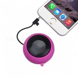 Mini Portable Hamburger Speaker Amplifier Music Loudspeaker HI-FI For iPod For iPad Laptop iPhone Tablet PC White