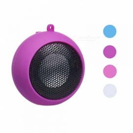 Mini Portable Hamburger Speaker Amplifier For iPod For iPad Laptop iPhone Tablet Plastic Material Multi Colors Optional Other/Hot pink
