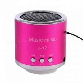 Mini Bluetooth Speaker Z - 12 Portable Wireless Music Speaker for Phones iPhone iPad Loudspeaker Support TF Card TO USB A