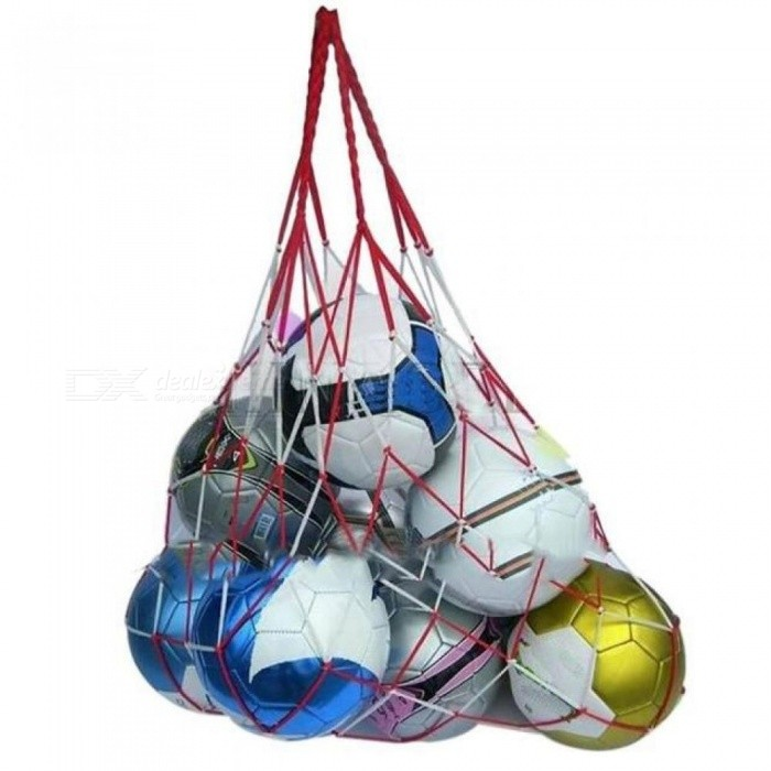 Buy Outdoor Sporting Soccer Net 10 Balls Carry Net Bag Volleyball  Football Balls  net bag Sports Portable Equipment 1pcs with Litecoins with Free Shipping on Gipsybee.com