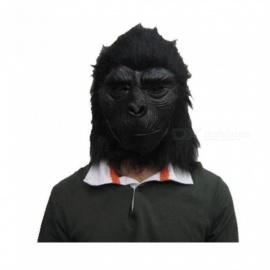 Screaming-Horror-Bloody-Face-Off-Horror-Halloween-Costume-Mask-Halloween-Decorations-Horror-Black-Gorilla-Mask-Black