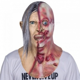 Horrible-Screaming-Zombie-Full-Face-Mask-With-Chest-Latex-Overhead-Bloody-Villain-Joke-Mask-For-Adult-A