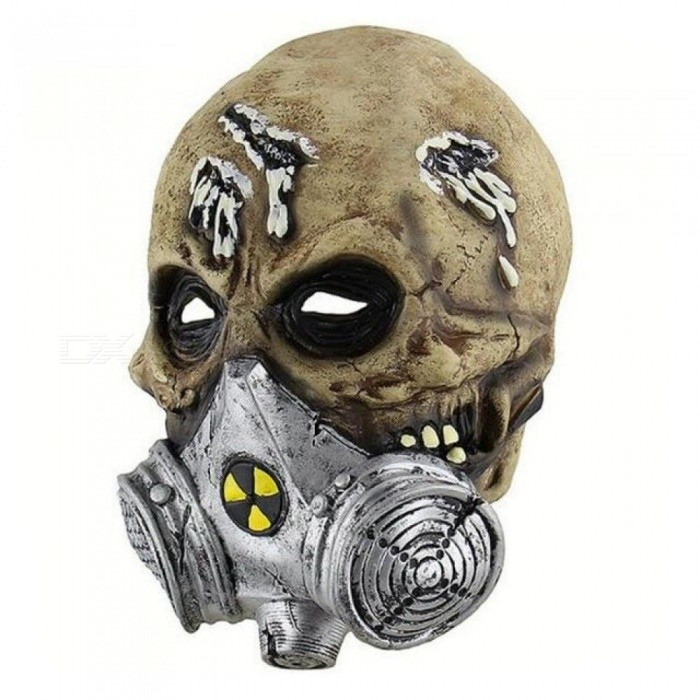 Buy Software Face Head Mask Latex Horror Mask Screaming Corpse Overhead Mask Scary Bloody Costume Cosplay gas defense Mask A with Litecoins with Free Shipping on Gipsybee.com
