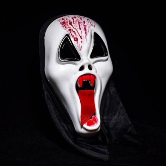 Creative Halloween Scary Mask Skull Ghost Scary Scream Full Face Mask Masquerade Party Dress Adult Party Cosplay Festival