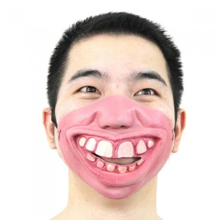 Funny Scary Vampire Mask Clown Latex Half Face Masks For Masquerade/Halloween Party Cosplay Costume Decoration Supplies