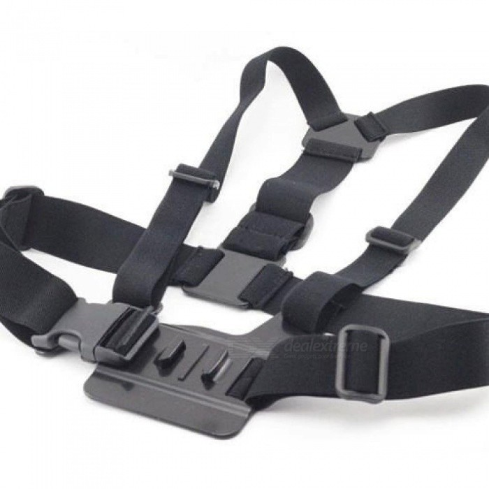 Elastic Adjustable Head Strap Mount Belt and Chest Belt Mount Kit For Sports camera Series Action Camera Accessories