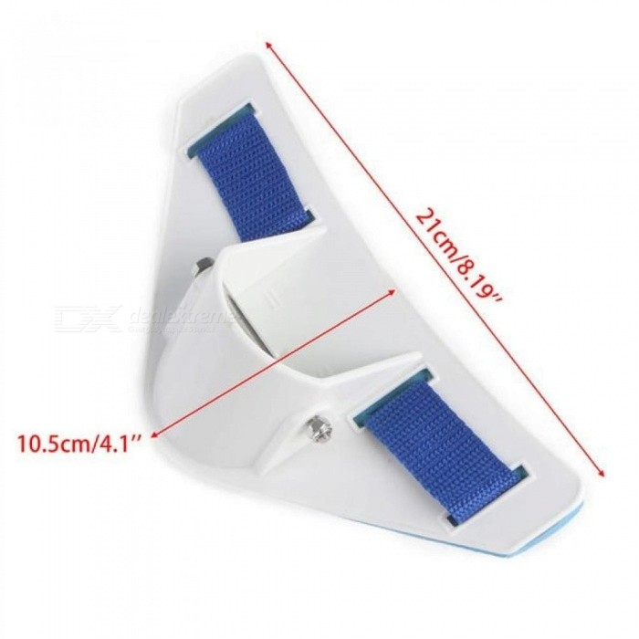 Stand Up Fishing Waist Gimbal Fishing Belt Rod Holder Big Tackle Game Jigging 21*10.5cm With White Blue Color
