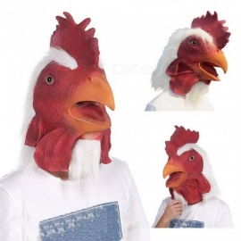 Mask-Rooster-Latex-Animal-Head-Red-Mask-For-Halloween-Costume-Full-Face-Mask-With-Red-And-White-Color-For-Adult-cock