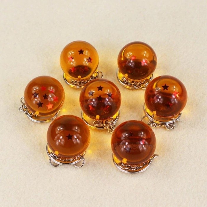 Anime-Dragon-Ball-Z-Crystal-Balls-With-Stars-PVC-Action-Figure-Keychain-Pendant-Toys-7PCSLot-For-25cm-7pcslot