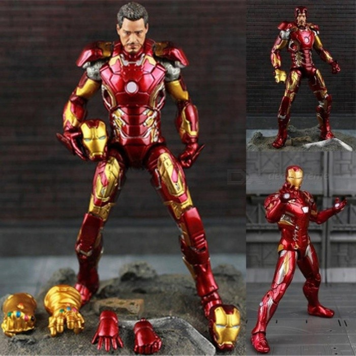 The-Avengers-IronMan-Action-Figure-Model-20cm-MK42-MK43-Iron-Man-Doll-PVC-ACTION-Figure-Toy-Brinquedos-Anime-Kids-Toys-1-Piece-No-Box