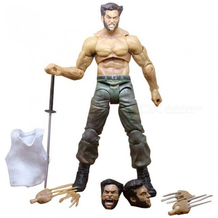 Marvel-Legends-Series-X-Men-Wolverine-Claws-Logan-Action-Figure-Anime-Doll-Toy-Collectible-Model-Toys-for-Children-Gift-Loose