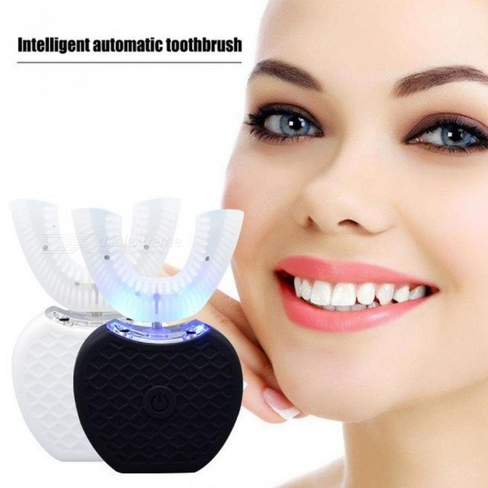 2nd Generation Intelligent Automatic Oral Cleaner Sonic Adult Electric Toothbrush Teeth Whitening 360 Degree Cleaning