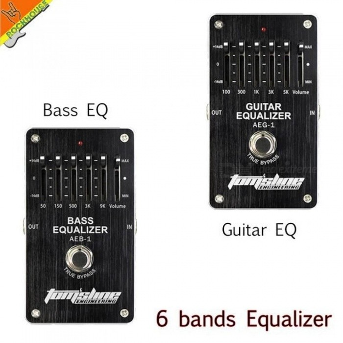 6-Bands-EQ-Effects-Pedal-Guitar-Bass-Equalizer-Pedal-Stompbox-Low-Mid-High-Frequency-Adjustable-True-Bypass-Bass-EQ