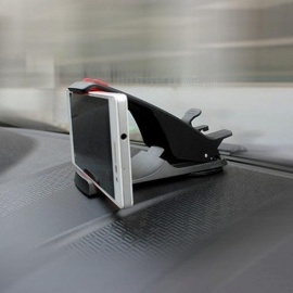 Phone Holder Mobile Phone Stand Cradle Car Holder Support GPS Car Dashboard Holder for iPhone Samsung LG Huawei Black