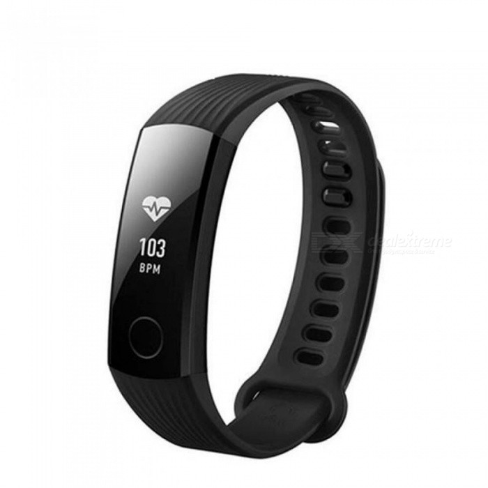 HUAWEI Honor Band 3 Smartband Heart Rate Monitor Calories Consumption Pedometer Smart Wristband  45 Days Standby Times Black