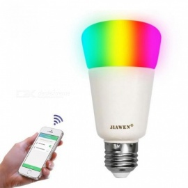 LED Bulb Lamps E27 Smart RGB Wireless WIFI App Control Bulb (zigbee Version) Light Bulb Intelligent 9W 750lm Dimmable LED Light Support Dimmer/rgbw