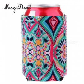 Neoprene Soda/ Beer Bottle Tin Can Cooler Chilling Sleeve Holder Wrap -12  12.5 x 9.5x 0.8cm For 3PCS  3pcs