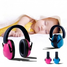 Baby noise earmuffs for children baby proof ears Baby Kids Anti-noise Earmuffs Headset Hearing Protection Ear Defenders Pink