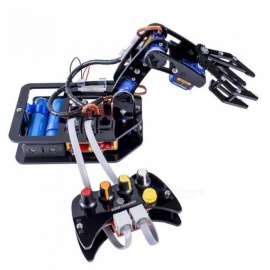 Electronic Diy Robotic Arm Kit With 4-Axis Servo Control Rollarm with Wired Controller for Arduino Uno R3 A