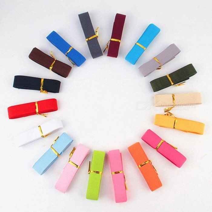 Buy Elastic Band Tape DIY Sewing Supplies Hand Made Belt Webbing Underwear Pants Bra Rubber Clothes Waistband Elastic12 Colors 20MM  Random Mix 12 Color 1M with Litecoins with Free Shipping on Gipsybee.com
