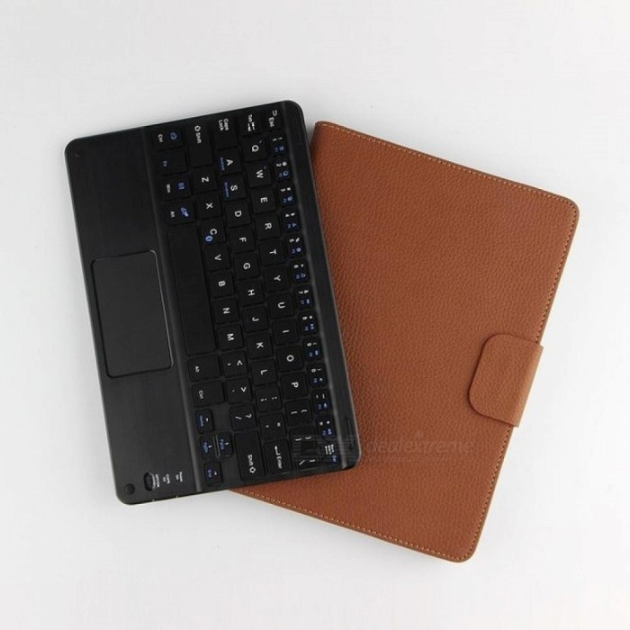 Wireless-Bluetooth-Keyboard-2bPU-Leather-Cover-Protective-Smart-Case-For-Huawei-MediaPad-T3-10-AGS-L09L03-96-inch-Tablet-2b-Gift-Brown
