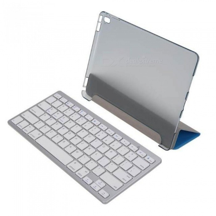 4-Combinations-Wireless-Bluetooth-Keyboard2bStylus-pen2bScreen-Protector2bGeneric-Hybrid-PU-Case-with-Stand-for-iPad-Pro-97-Blue