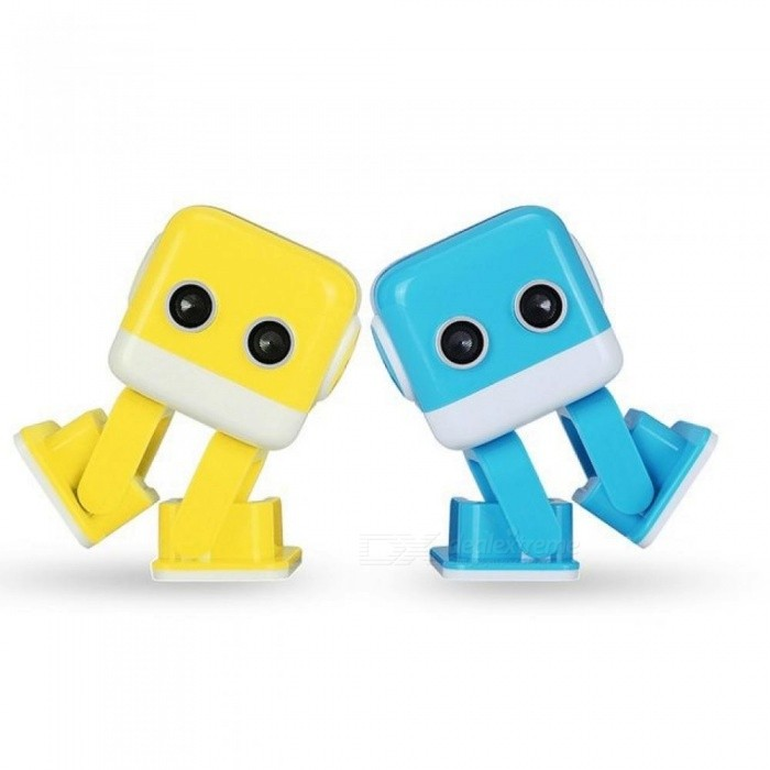 Intelligent Programming APP Control Remote Control Dancing Robot Toys With Yellow Or Blue Color Optional Blue