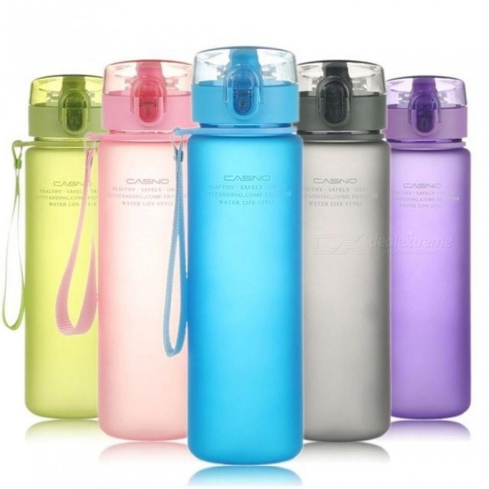 Sports Water Bottle High-Quality Tour Hiking Portable Bottles 400ml 560 ml Capacity Gray Blue Yellow Color Green/400ml