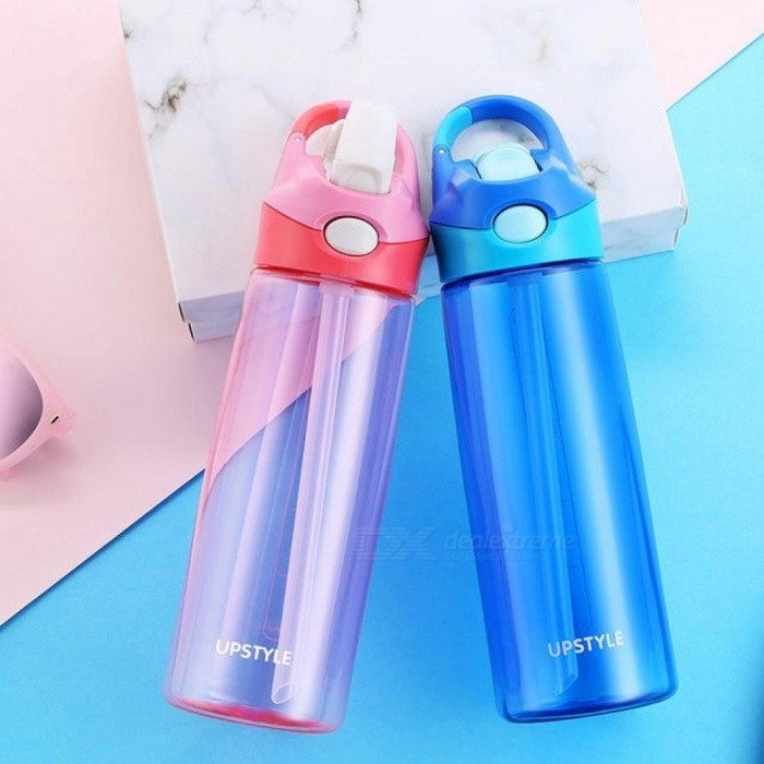 Sports Water Bottle High-Quality Tour Hiking Portable Bottles 400ml 600ml Green Pink Blue Color Optional Blue/0.4L