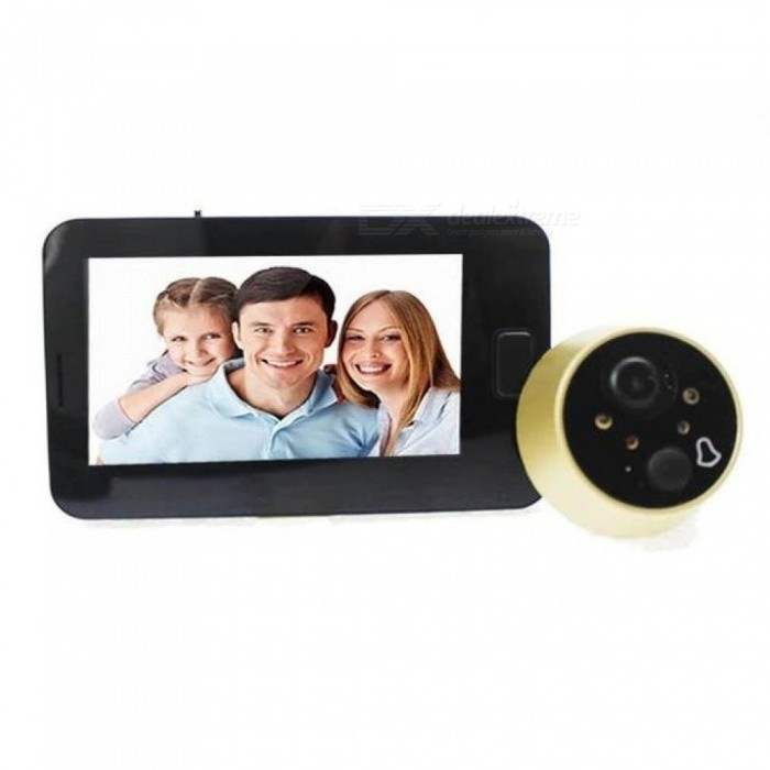 Peephole-Door-Camera-43-Inch-Color-Screen-With-Electronic-Doorbell-LED-Lights-Video-Door-Viewer-Video-eye-Home-Security-43-Inches