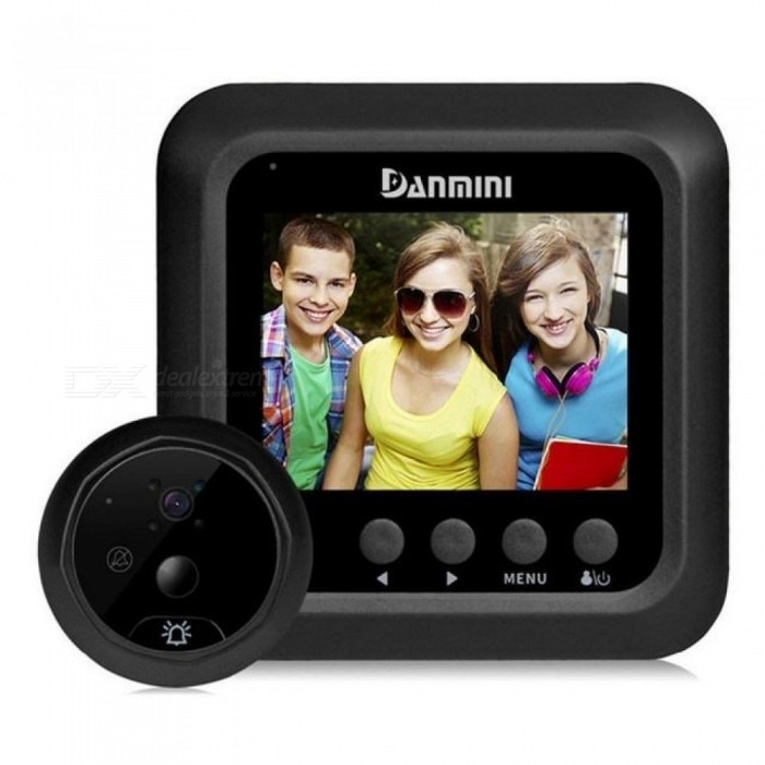 24-Inch-Color-Screen-Wireless-Video-Door-Phone-Intercom-System-20MP-Digital-Peephole-Viewer-Doorbell-Security-Camera-24-Inches