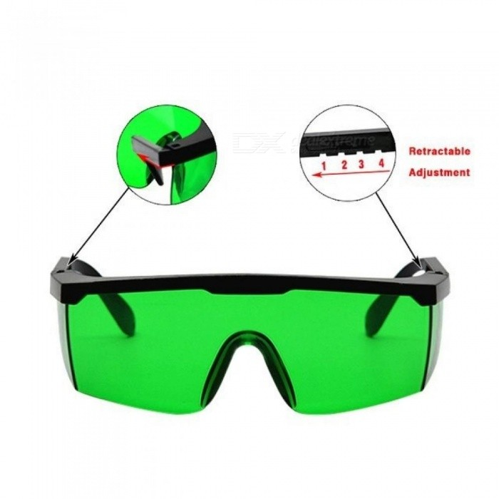 NO Burr Good Quality Telescopic Frame Eyes Protective Glasses Available Working With Red Laser And Green Laser Lines A