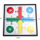 U3 Folding Magnetic Ludo Set Children Chess Game Fold Packable Ludo Trip Entertainment Games for Kids A