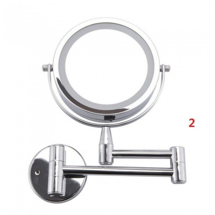 Bath-Mirror-Led-Cosmetic-Mirror-1X3X-Magnification-Wall-Mounted-Adjustable-Makeup-Mirror-Dual-Arm-Extend-2-Face-Bathroom-Mirror-2