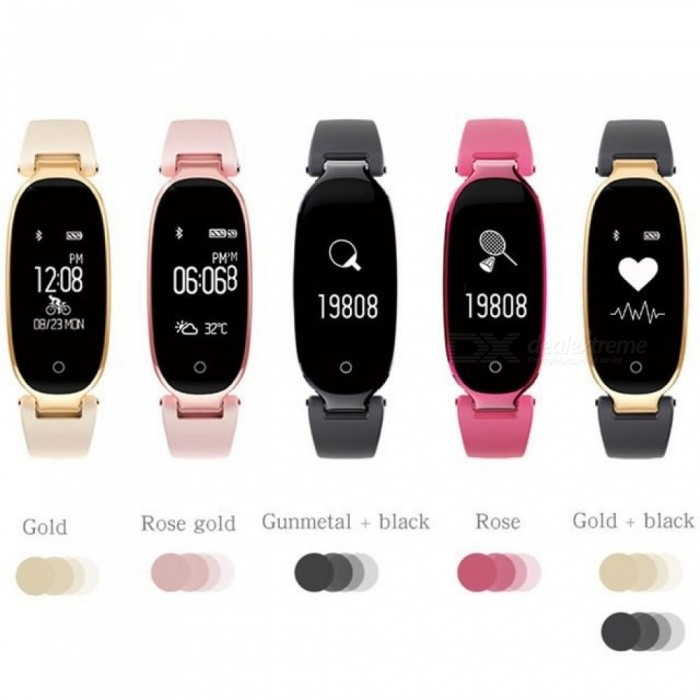 Fitness-Tracker-Womens-S3-Smart-Watch-Women-Smart-Watches-Heart-Rate-Monitor-Sport-Watch-For-Android-IOS-Reloj-Deportivo-Mujer-Pink