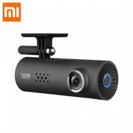 Xiaomi 70 mai Mstar 8328P Sony IMX323 Smart Car DVR WiFi 1080P FHD 130 Degrees FOV Camera Voice Control - Black Without TF Card