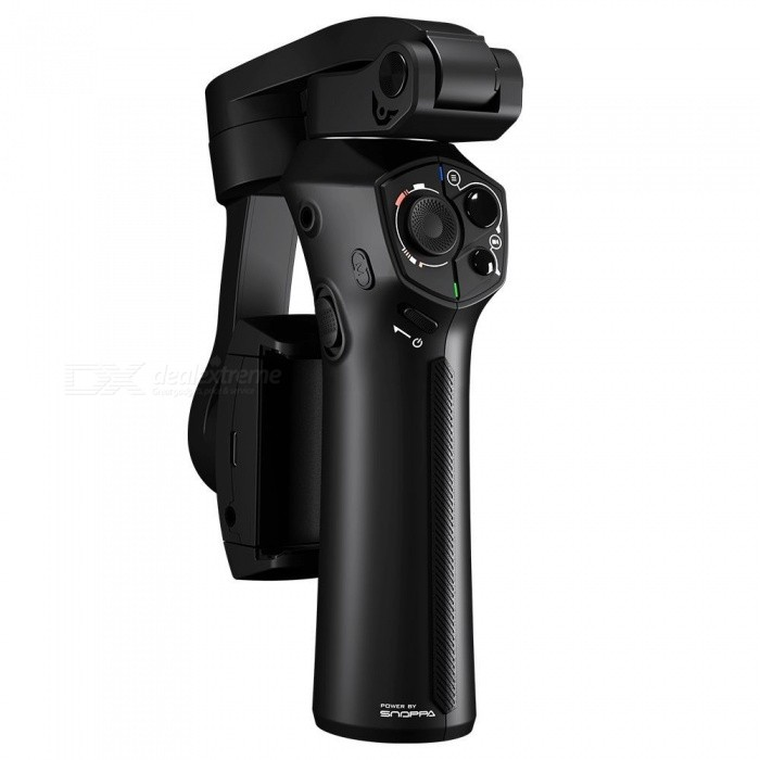 Snoppa Atom 3-Axis Foldable Pocket-Sized Handheld Gimbal Stabilizer For Smartphone & GoPro Black Color