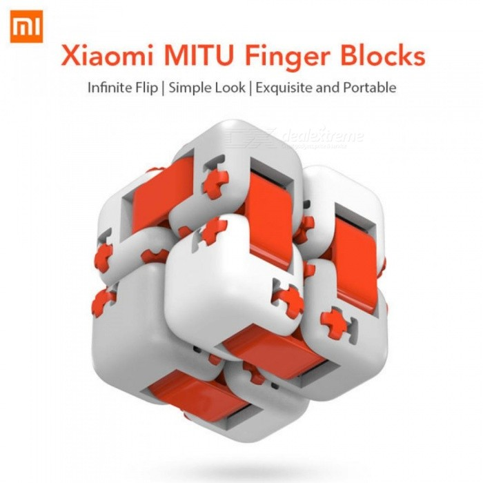 Xiaomi Mitu Cube Spinner Finger Bricks Portable Smart Finger Toys Intelligence Toys For Xiaomi Smart Home Gift Anti-Stress Toy