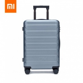 Xiaomi PC Suitcase Carry On Spinner Wheels Travel Luggage TSA Lock 20 24 28 Inch For Women Men School College Business 20/Lake Blue