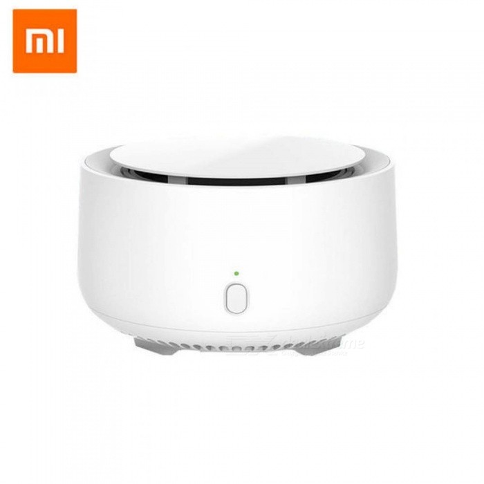 Original Xiaomi Mijia Movable Portable Mosquito Repellent Killer Timing No Heating Fan Drive With Led Light Use 90 Days Device And 1pc Film