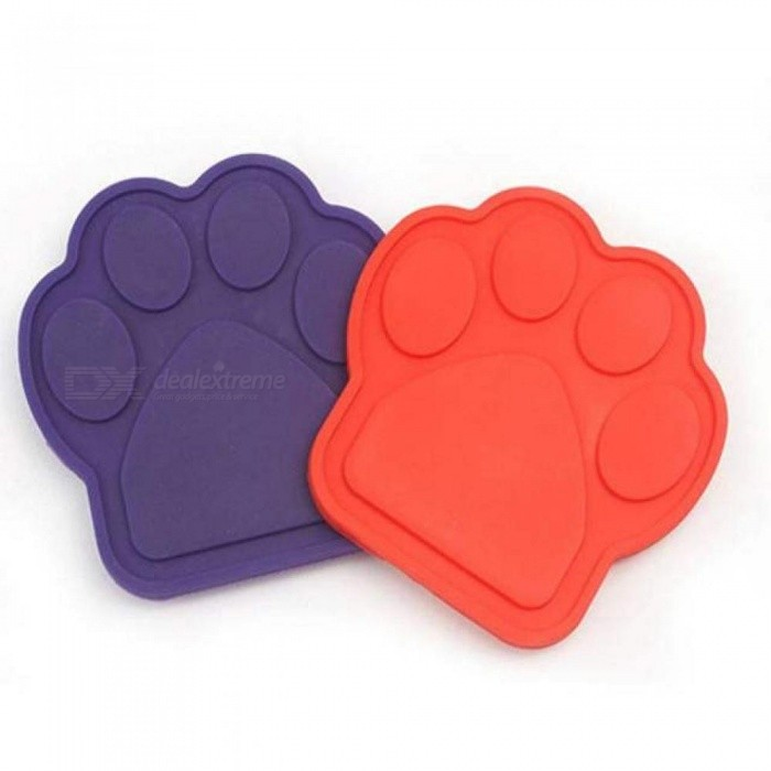 Buy Pet Bath Buddy Slow Eating Bath Fixed Suction Transfer Attention Bath Artifact Pet Supplies For Bathing Grooming M/Purple with Litecoins with Free Shipping on Gipsybee.com