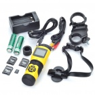 "1/3"" CCD Waterproof Eyewitness Police Action DV Camera with Batteries Set (1.4"" LCD/TF Slot)"