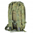 Outdoor Military War Game Multi-Function Oxford Cloth Backpack Bag - Army Green