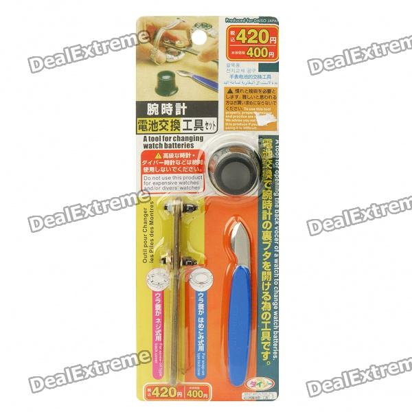 Buy 3-in-1 Watch Repair Tools Kit with Litecoins with Free Shipping on Gipsybee.com