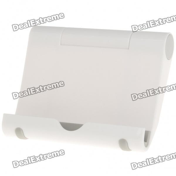 Compact Folding Stand Holder for Iphone 4/Ipad/Ipad 2/Samsung P1000/P7100/P7150 - White