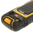 "Outfone BD351G 2.0"" LCD Ultra-Rugged Waterproof Quadband GSM Walkie Talkie Cell Phone w/GPS - Yellow"
