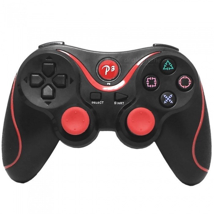 DualShock Bluetooth Wireless SIXAXIS Controller for PS3 - Black + Red