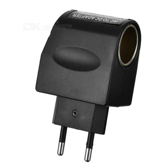 90V-240V AC to 12V DC Power Adapter Converter - Black (EU Plug)