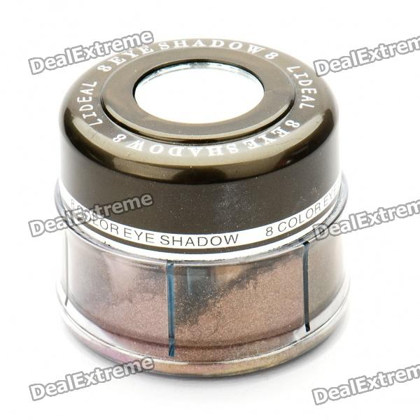 Portable Cosmetic Makeup 8-Color Eye Shadow Powder Set with Mirror
